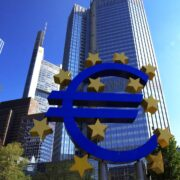 ECB-Eurotower European Central Bank, Frankfurt am Main, Germany