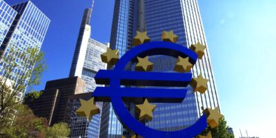 ECB-Eurotower European Central Bank, Frankfurt am Main, Germany