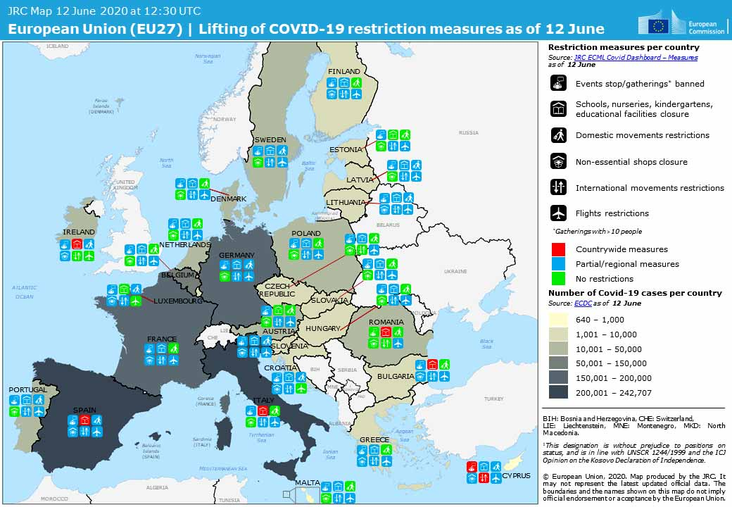 ecdm EU27 Covid measures