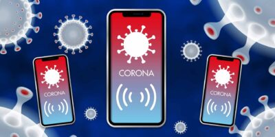 COVID warning App and digital contact tracing
