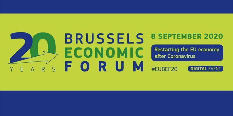 #EUBEF20 goes digital - The Brussels Economic Forum