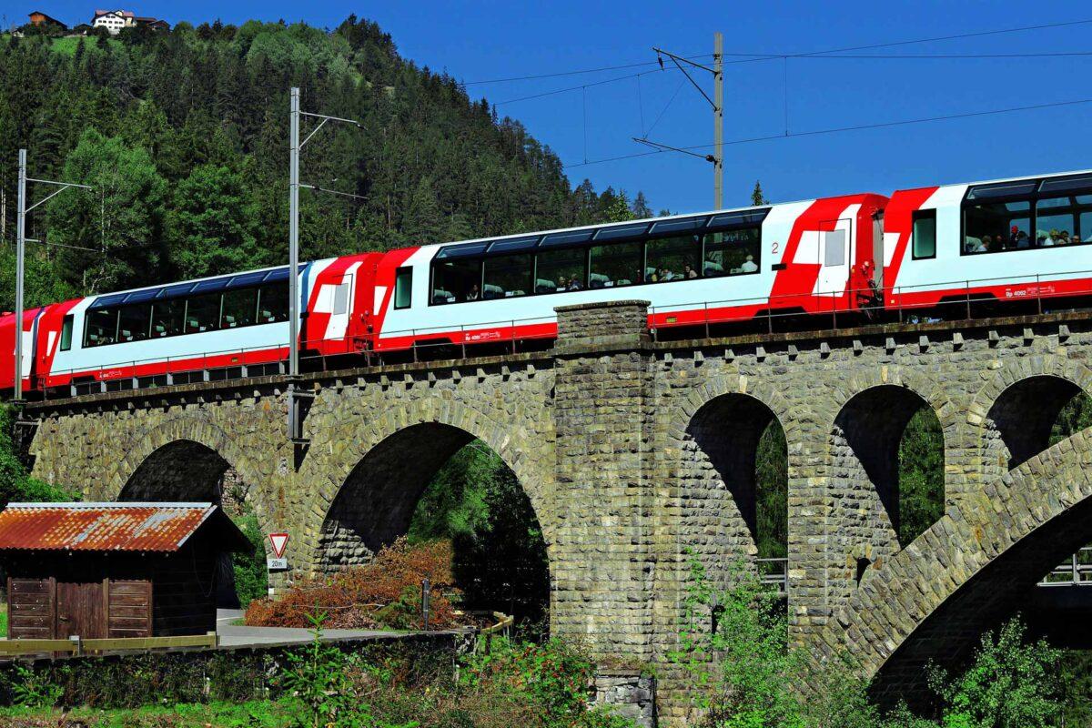 Glacier Express SWISS Graubünden Switzerland