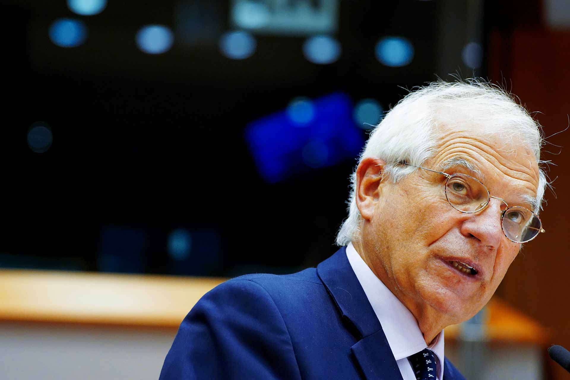 Josep Borrell Fontelles in the EUropean Parliament