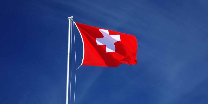 Swiss flag Switzerland