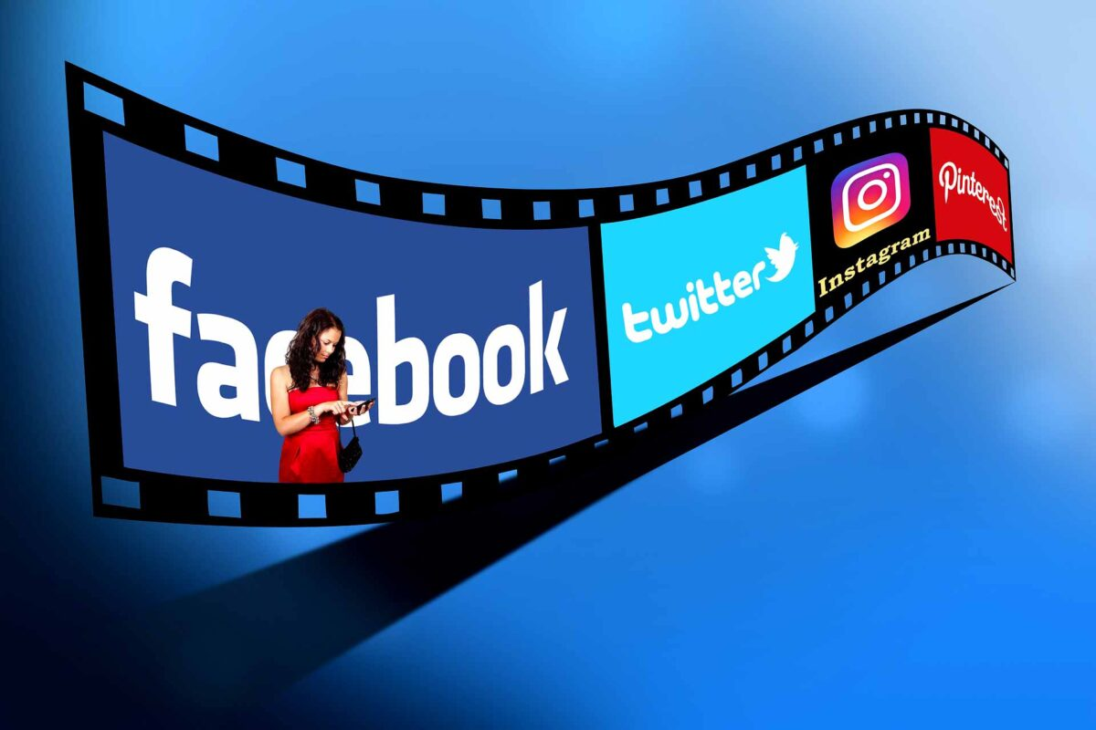 Twitter Facebook Instagram Pinterest Social Media