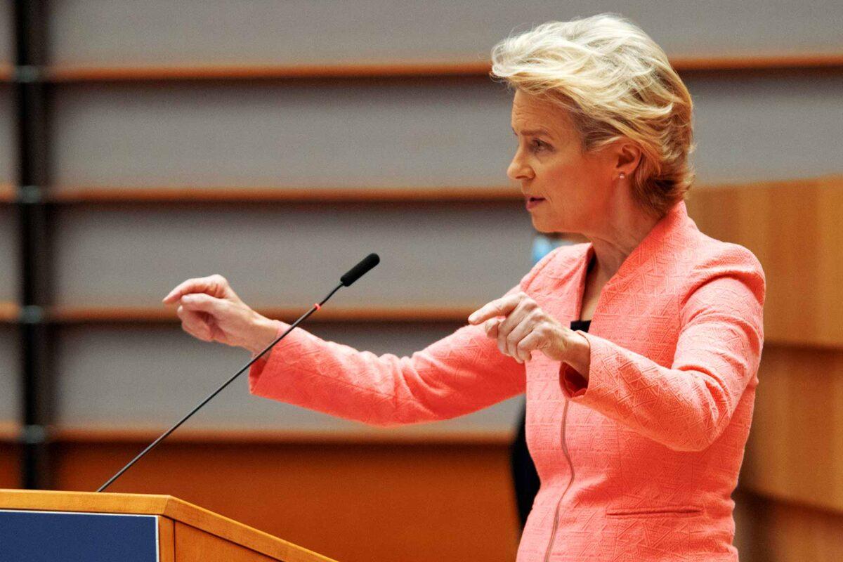 Watch State Of The Union Live Ursula Von Der Leyen Gives