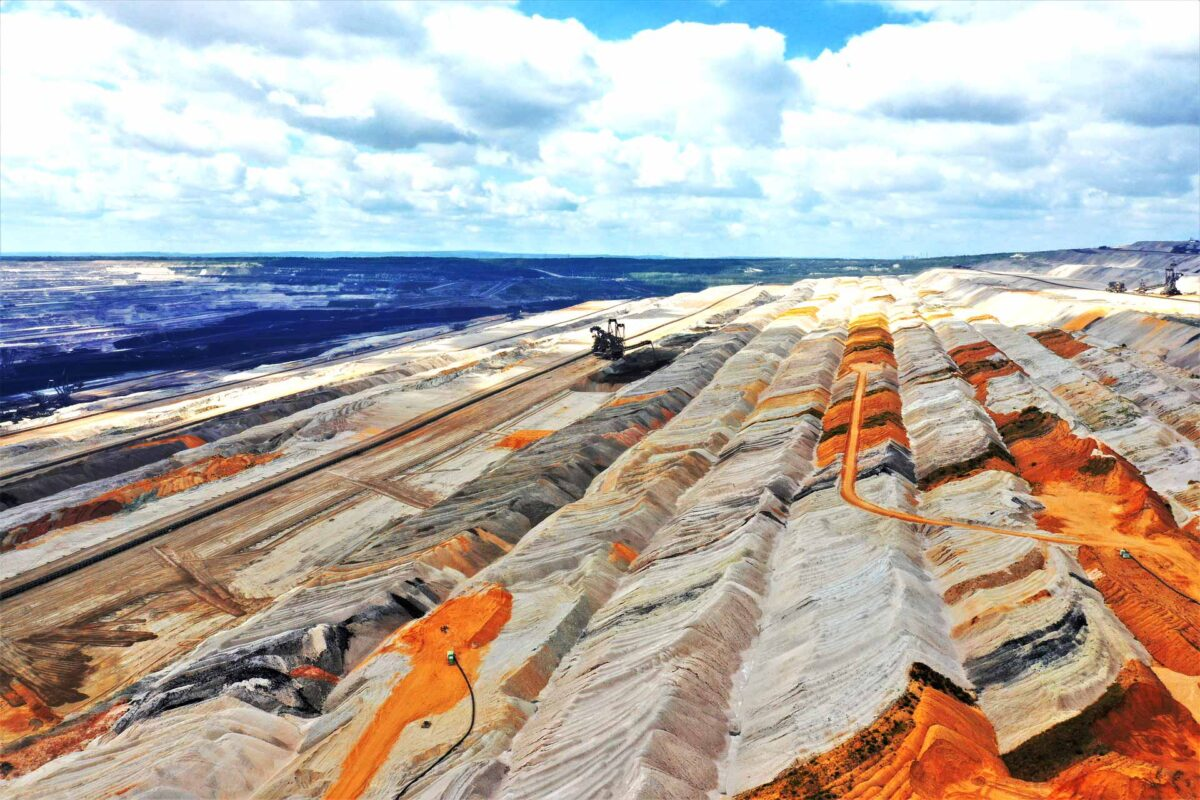 Mining raw materials industry