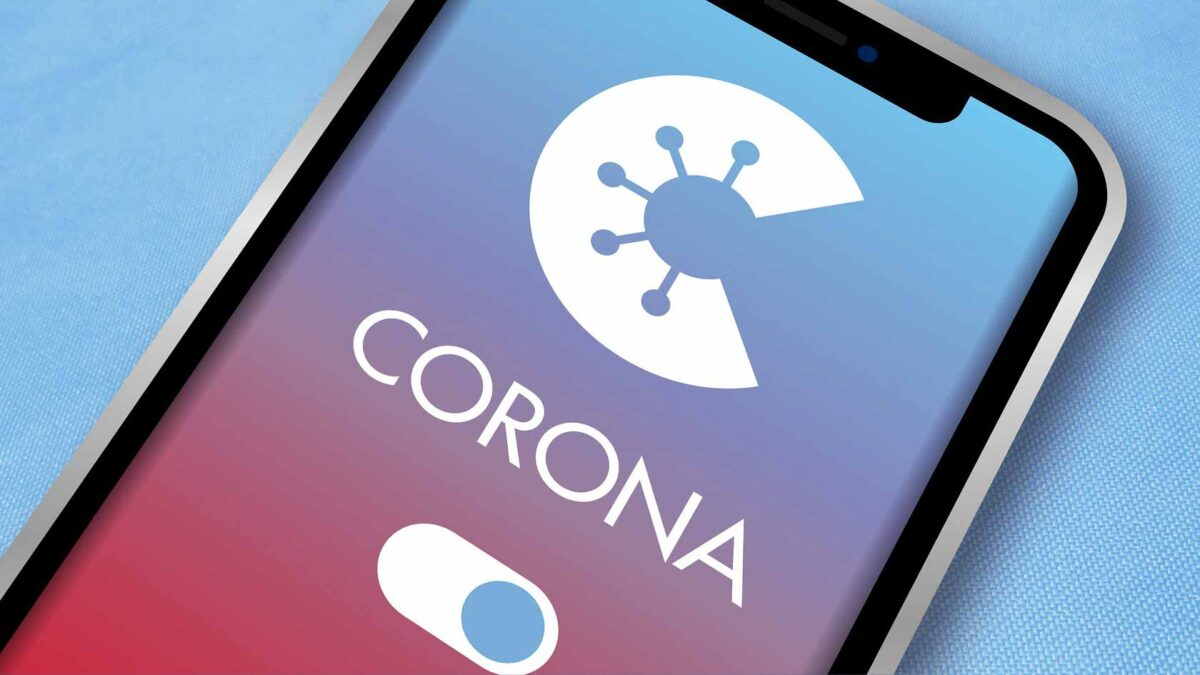 mobile phone Coronavirus Tracing App