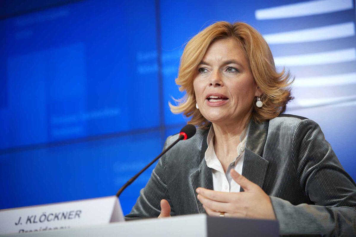 Julia Klöckner, Federal Minister for Food and Agriculture of Germany