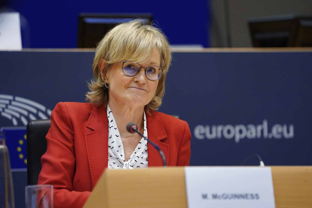 Mairead McGuinness EU Commissioner for Financial services, financial stability and the Capital Markets Union