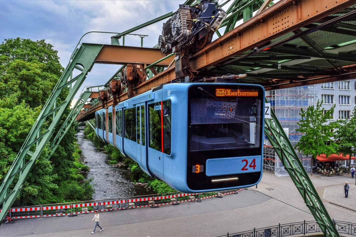 Oberbarmen tram Germany