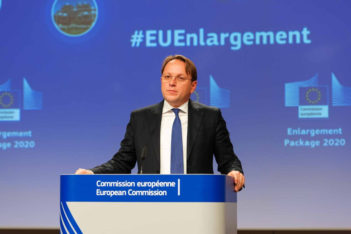 Olivér Várhelyi, European Commissioner for Neighbourhood and Enlargement, will hold a press conference on the Enlargement package and economic and investment plan for the Western Balkans