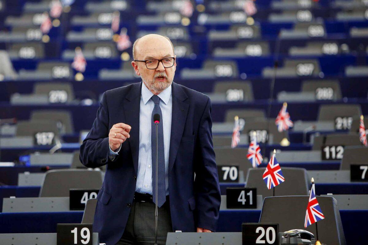 Polish MEP Ryszard Antoni Legutko BREXIT