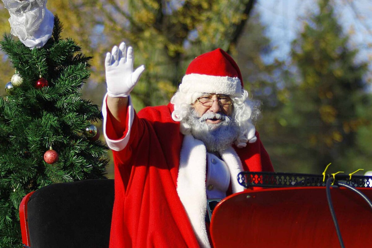 Santa Claus Christmas winter