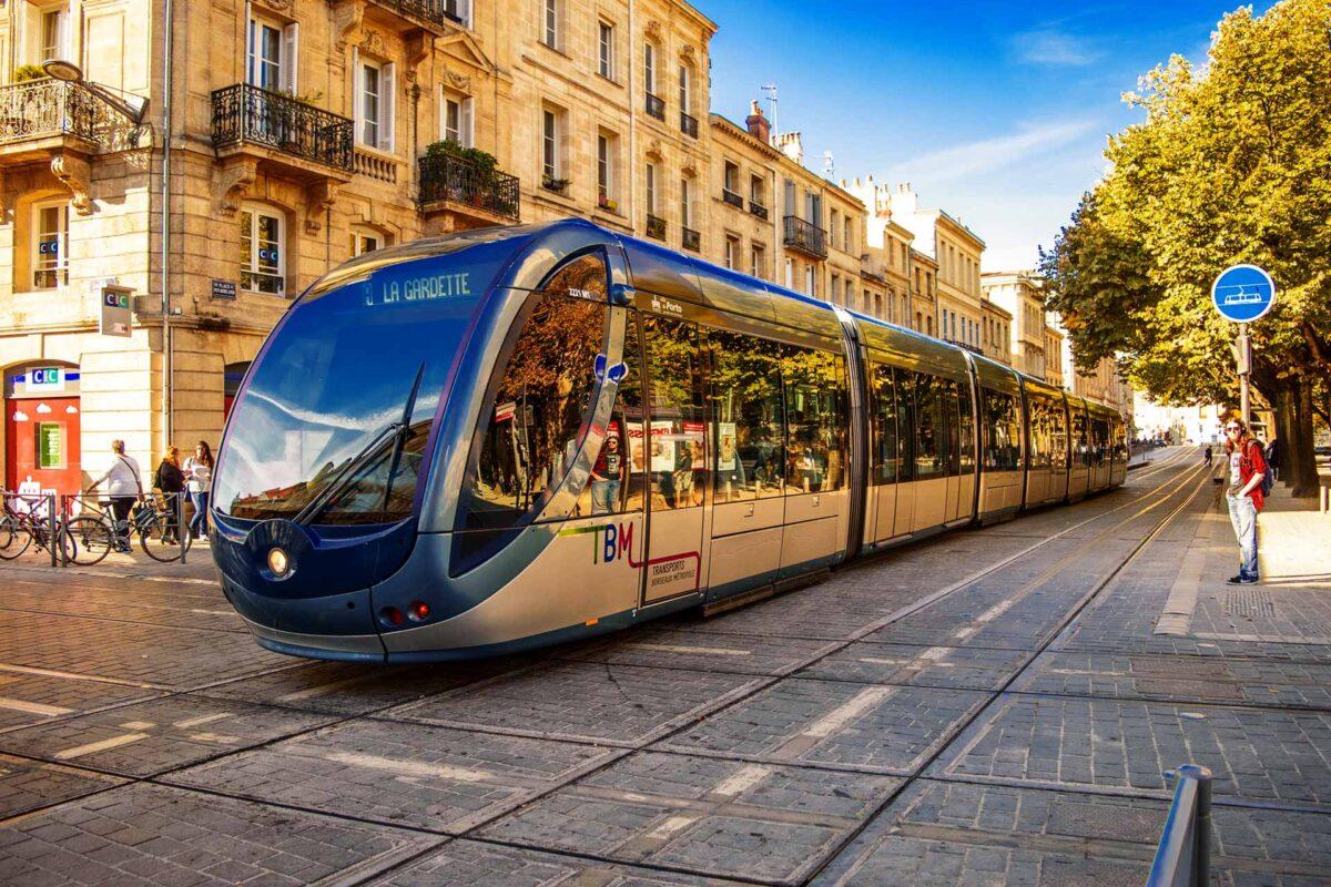 Transports Bordeaux Métropole TBM tram France