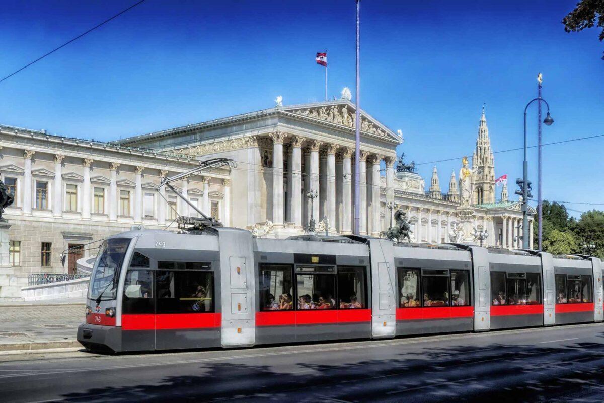 Vienna Tram Austria