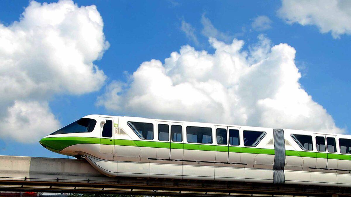 mono rail Green tram