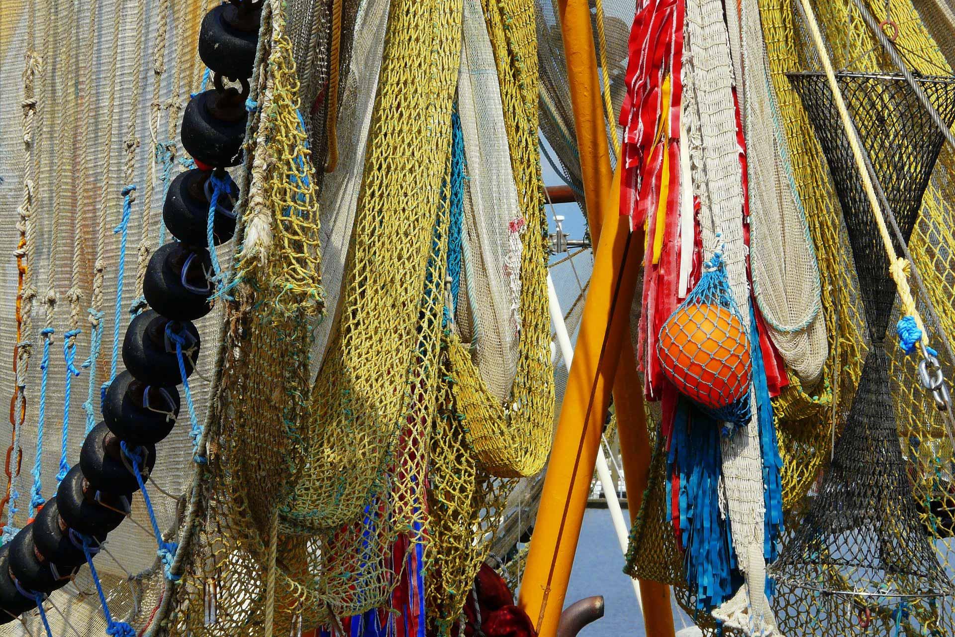 ship Fishing boat fishing nets
