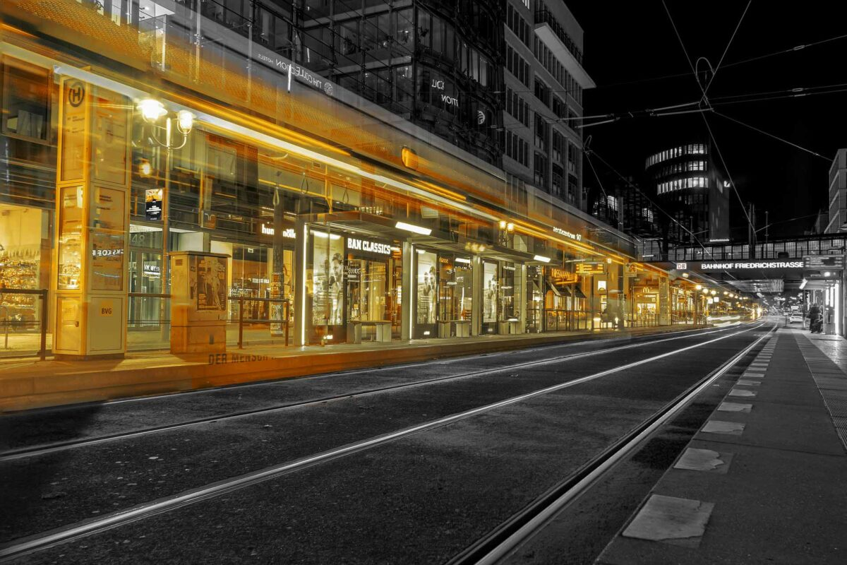 tram station Straßenbahn Berlin Germany