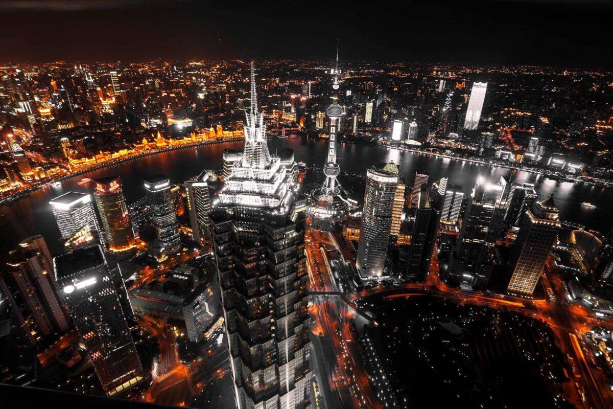 Shanghai - People's Republic of China night