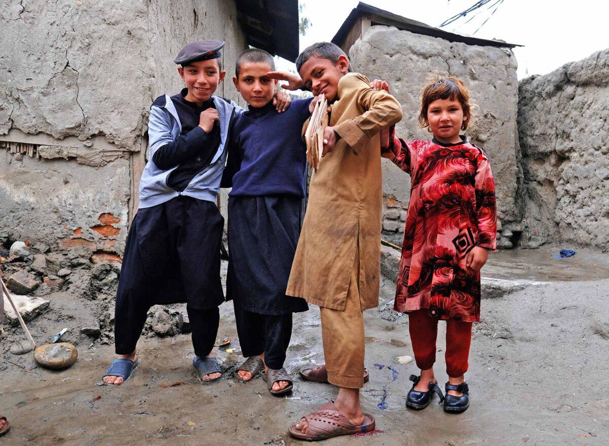 Afghan refugee camps - people of Afghanistan