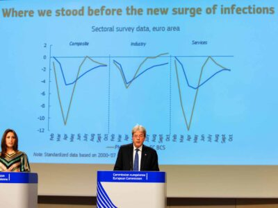 Paolo Gentiloni eudebates Autumn 2020 Economic Forecast