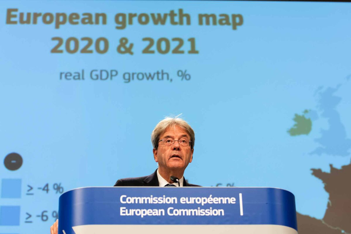 Paolo Gentiloni eudebates Autumn 2020 Economic Forecast