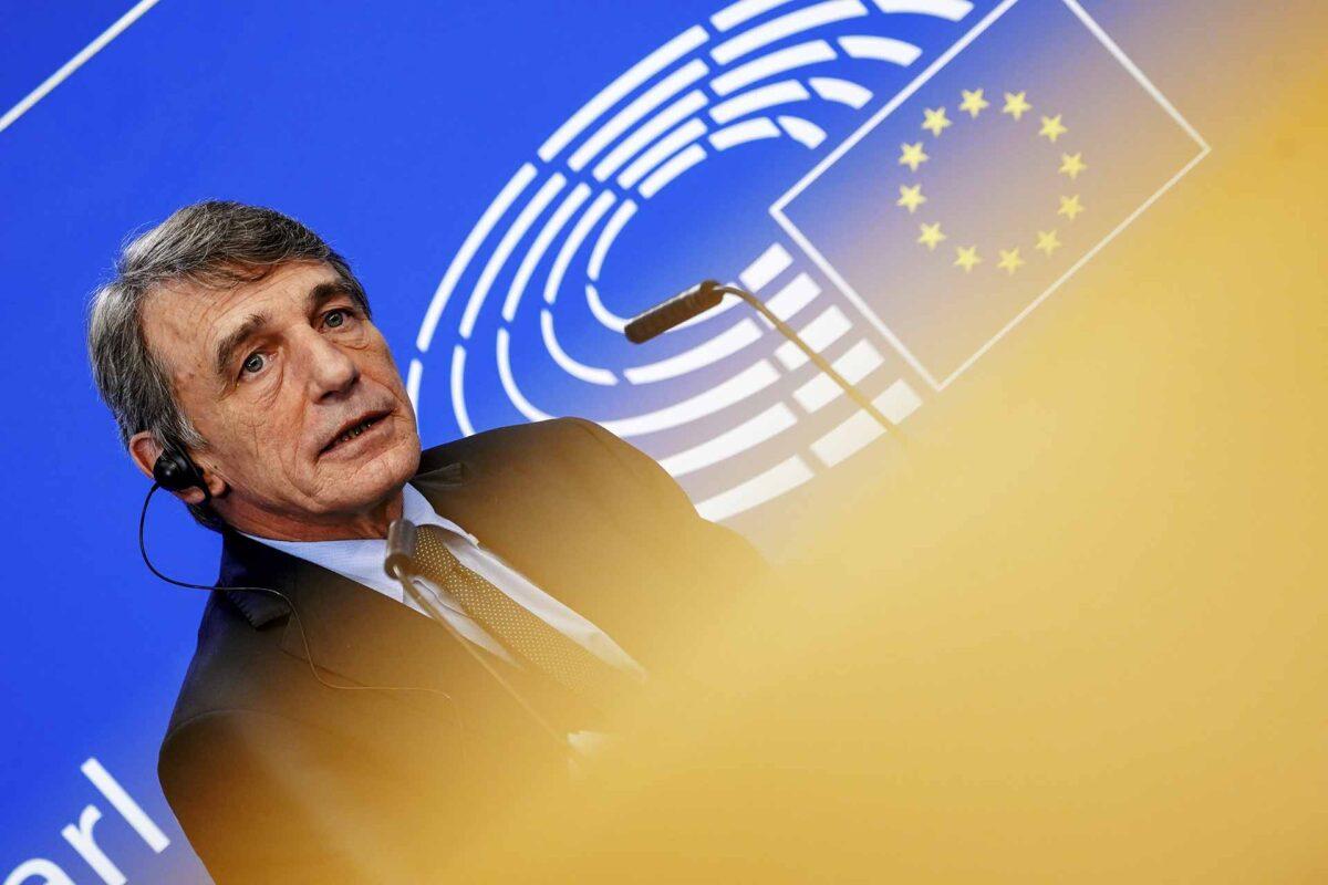 EU Parliament President David Sassoli