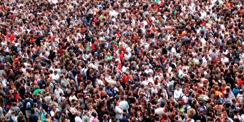 human crowds people