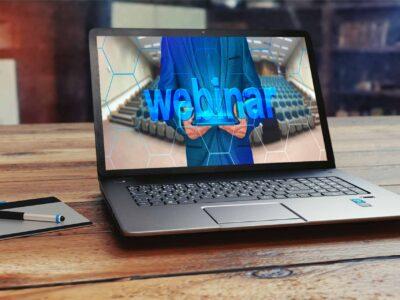 webinar laptop computer