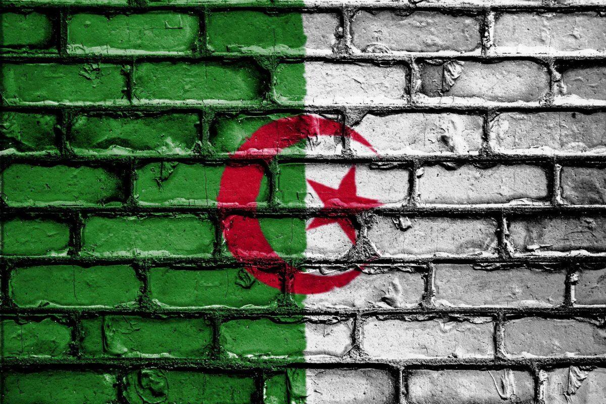Algeria Algerie flag