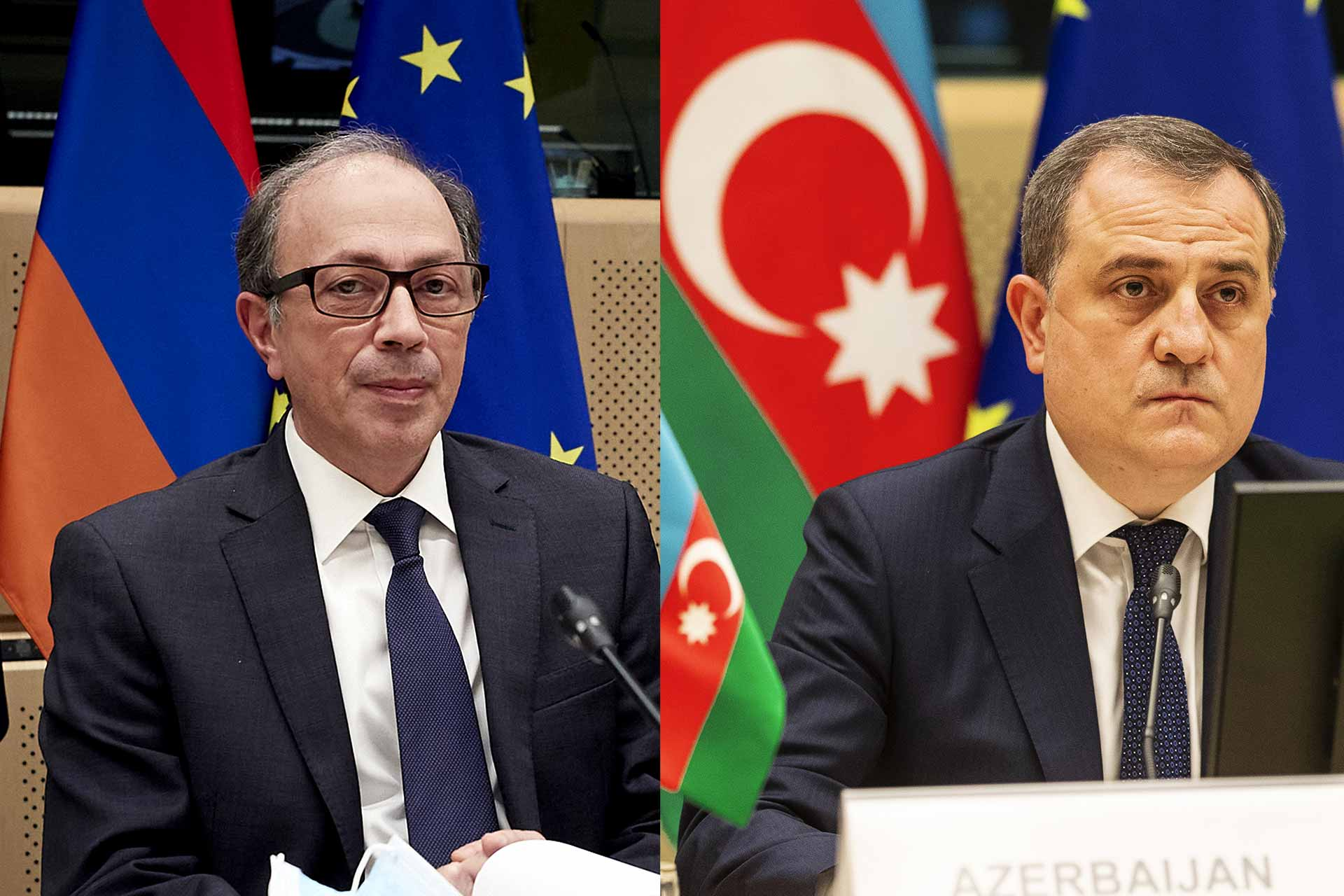 Armenia and Azerbaijan in Brussels