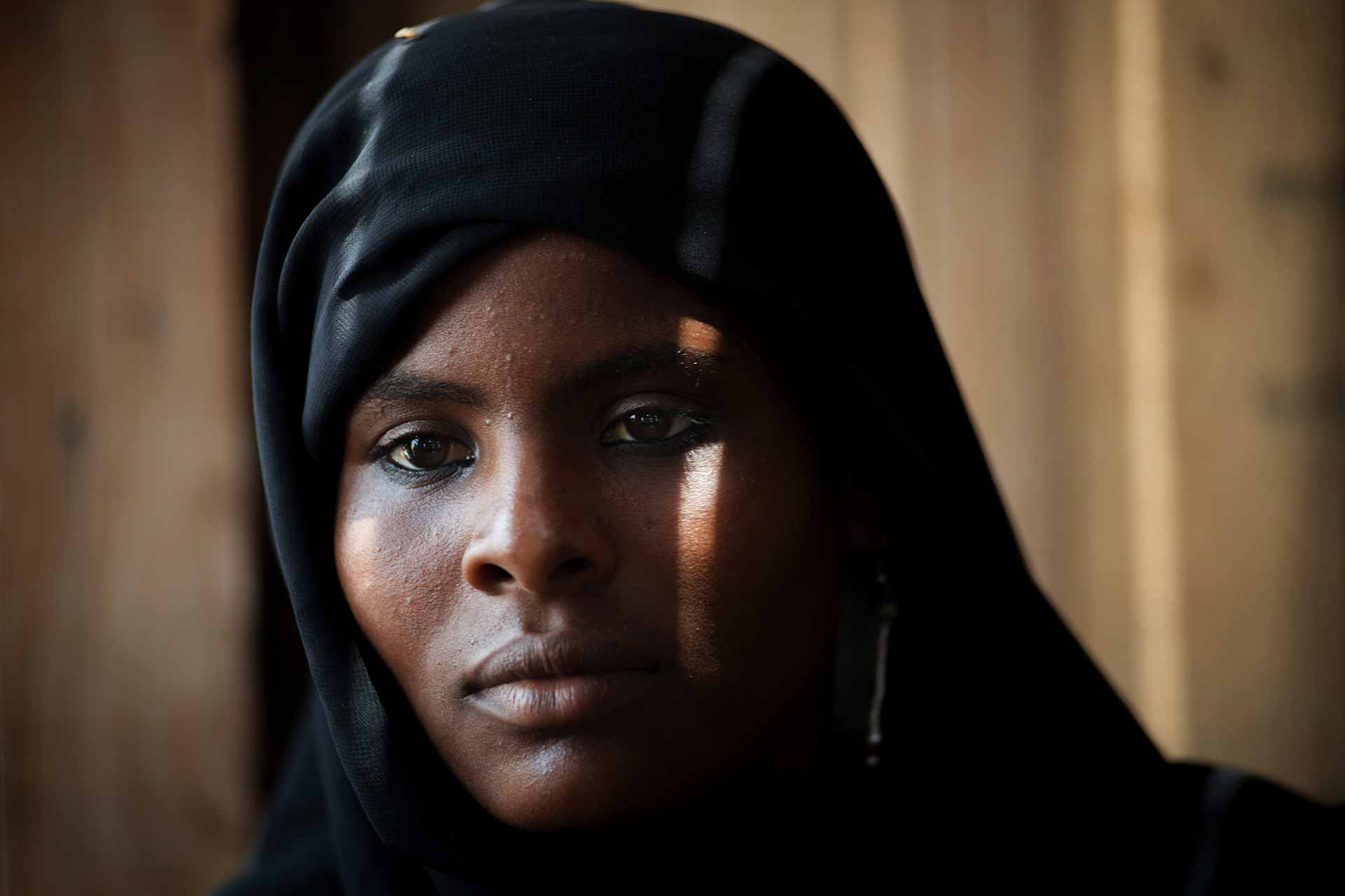 Asrar, 15, fled fighting in the Yemeni port city of Hodediah