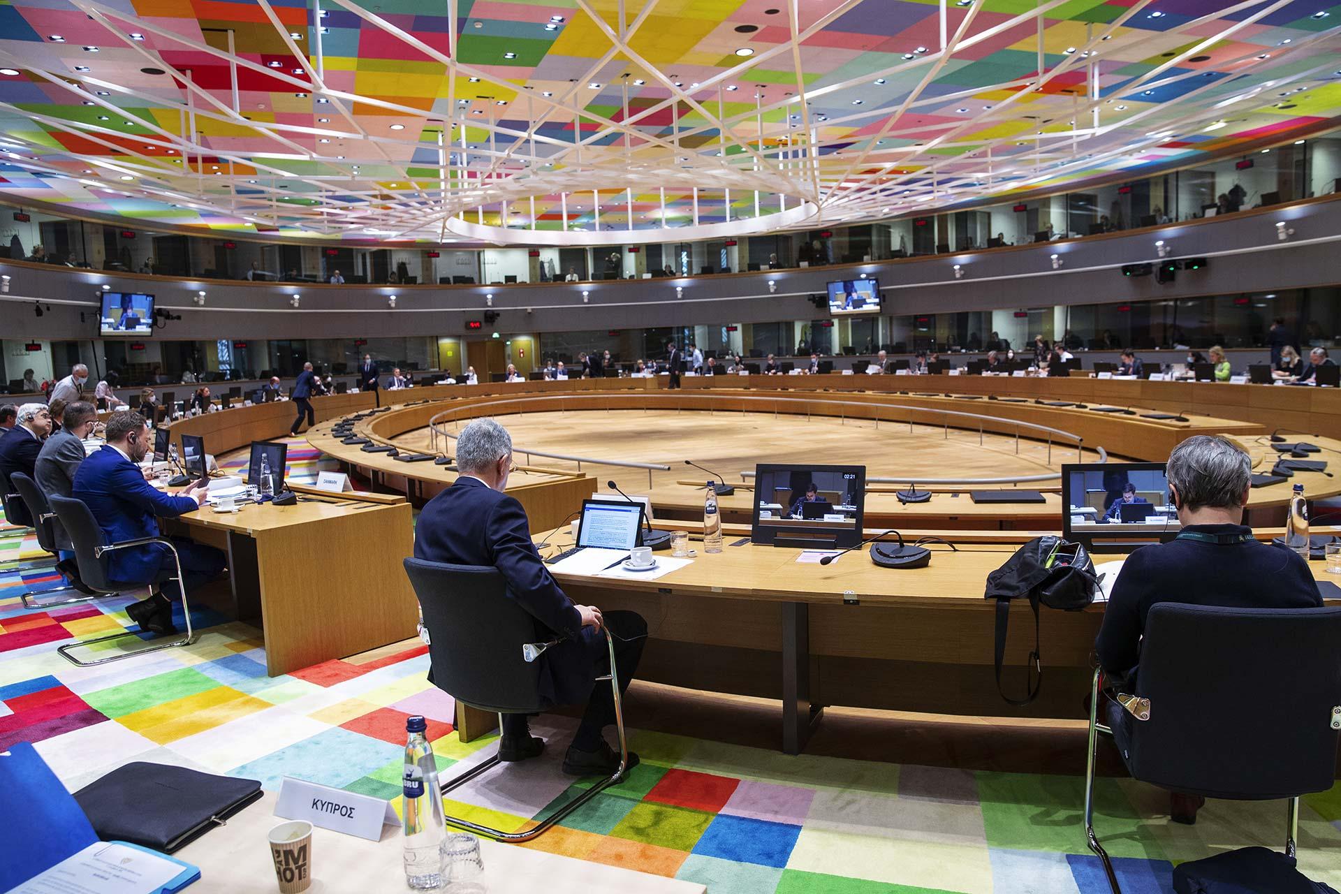 Environment Council Brussels 17 Dec 2020