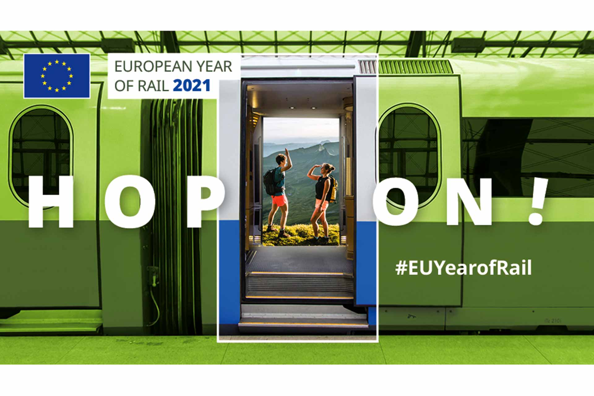 European Year of Rail 2021 #EUYearofRail