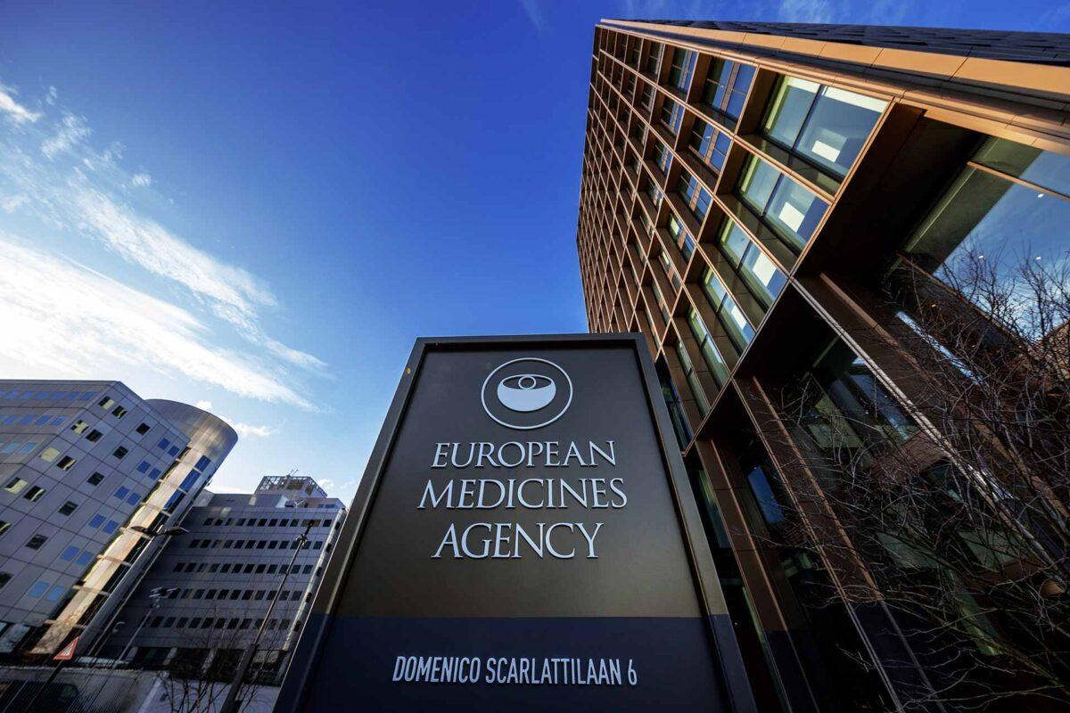 Exterior of European Medicines Agency in Amsterdam - EMA