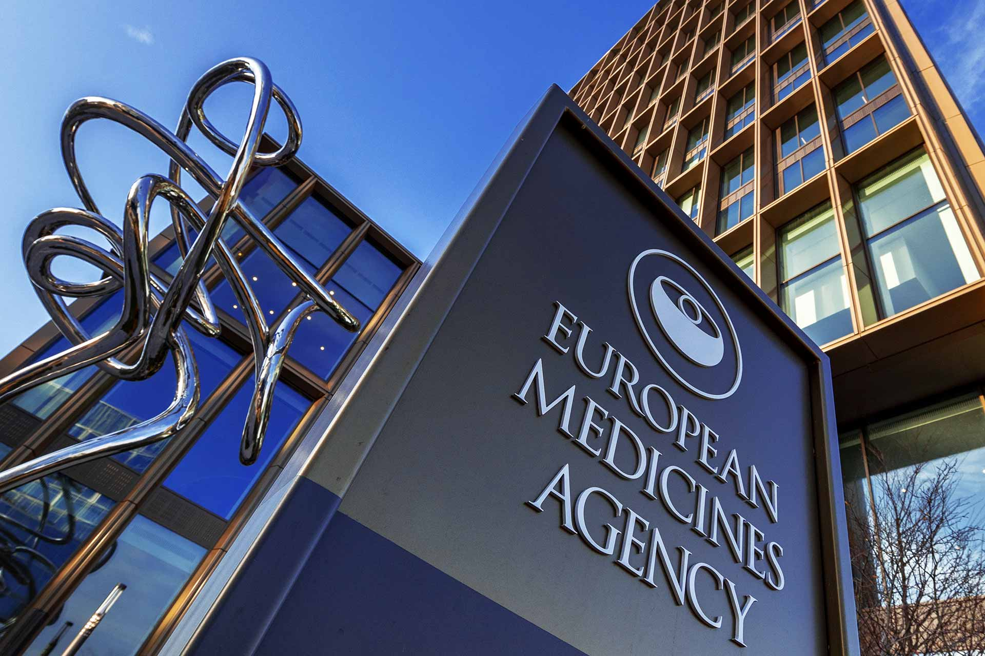 Exterior of European Medicines Agency in Amsterdam - EMA