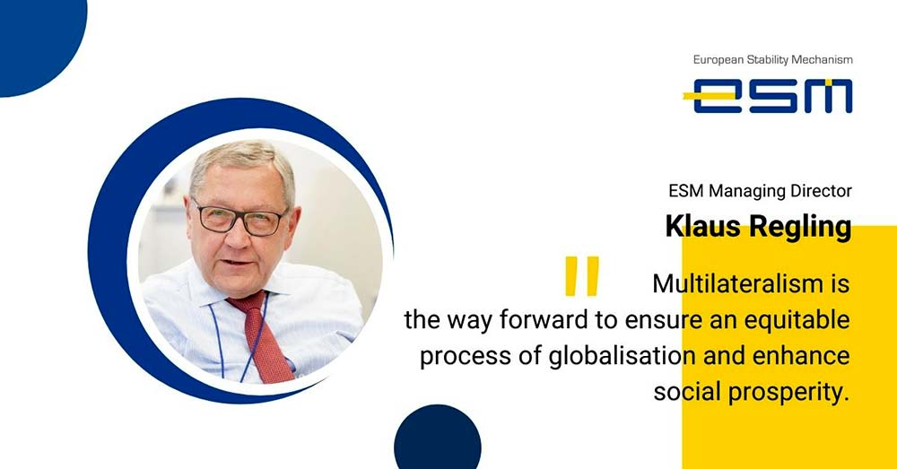 Klaus Regling is the current and first Managing Director of the European Stability Mechanism