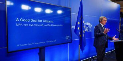 MFF 2021-27 David Sassoli EP President