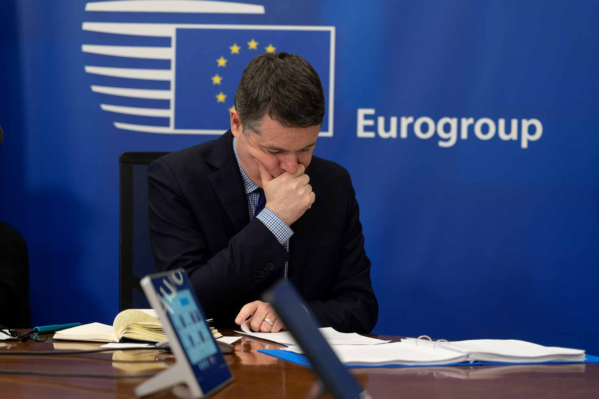 Paschal Donohoe Eurogroup President and Finance Minister of Ireland