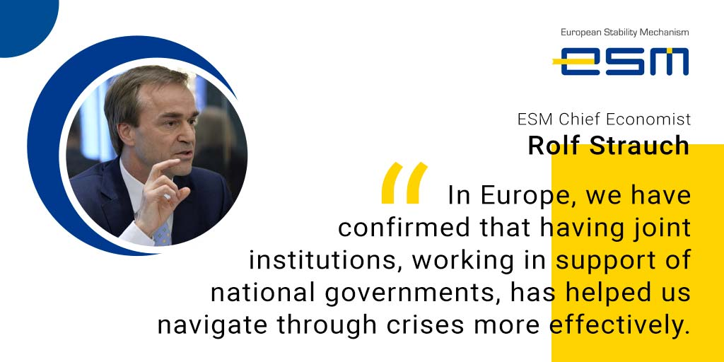 Rolf Strauch is Chief Economist of the European Stability Mechanism