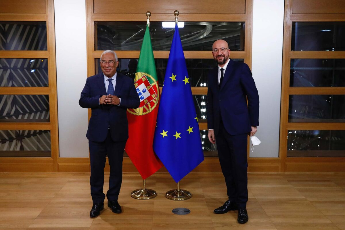 Antonio COSTA, Portuguese Prime Minister; Mr Charles MICHEL, President of the European Council