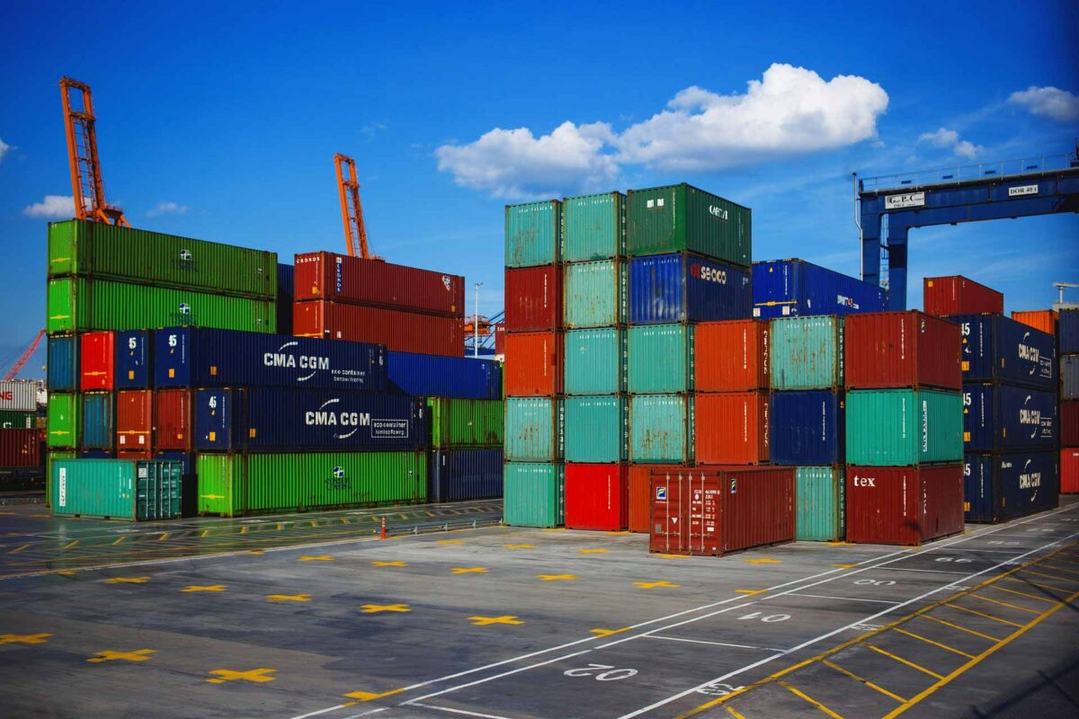 business containers port