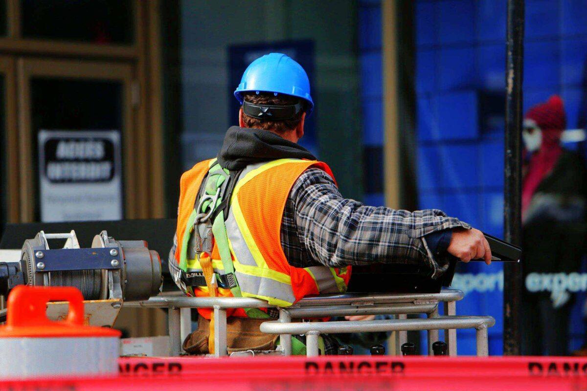 construction worker site