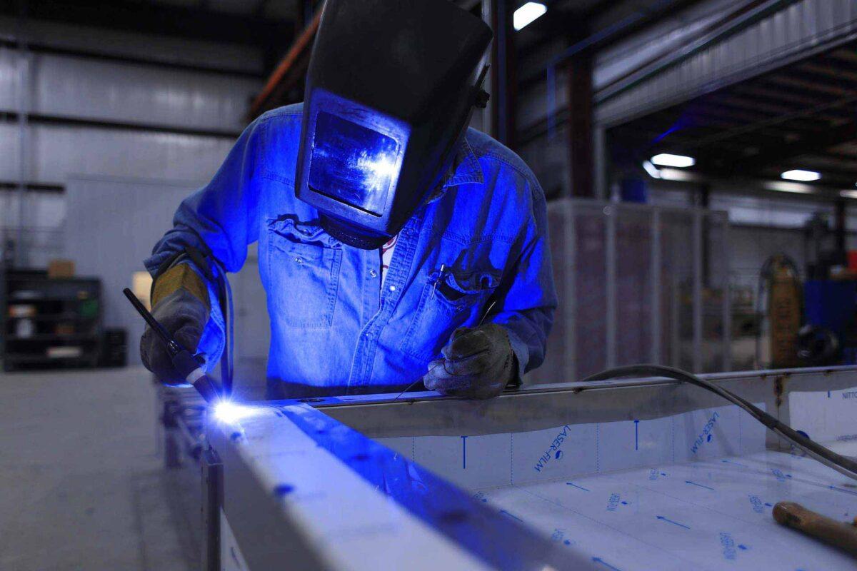 construction worker welder