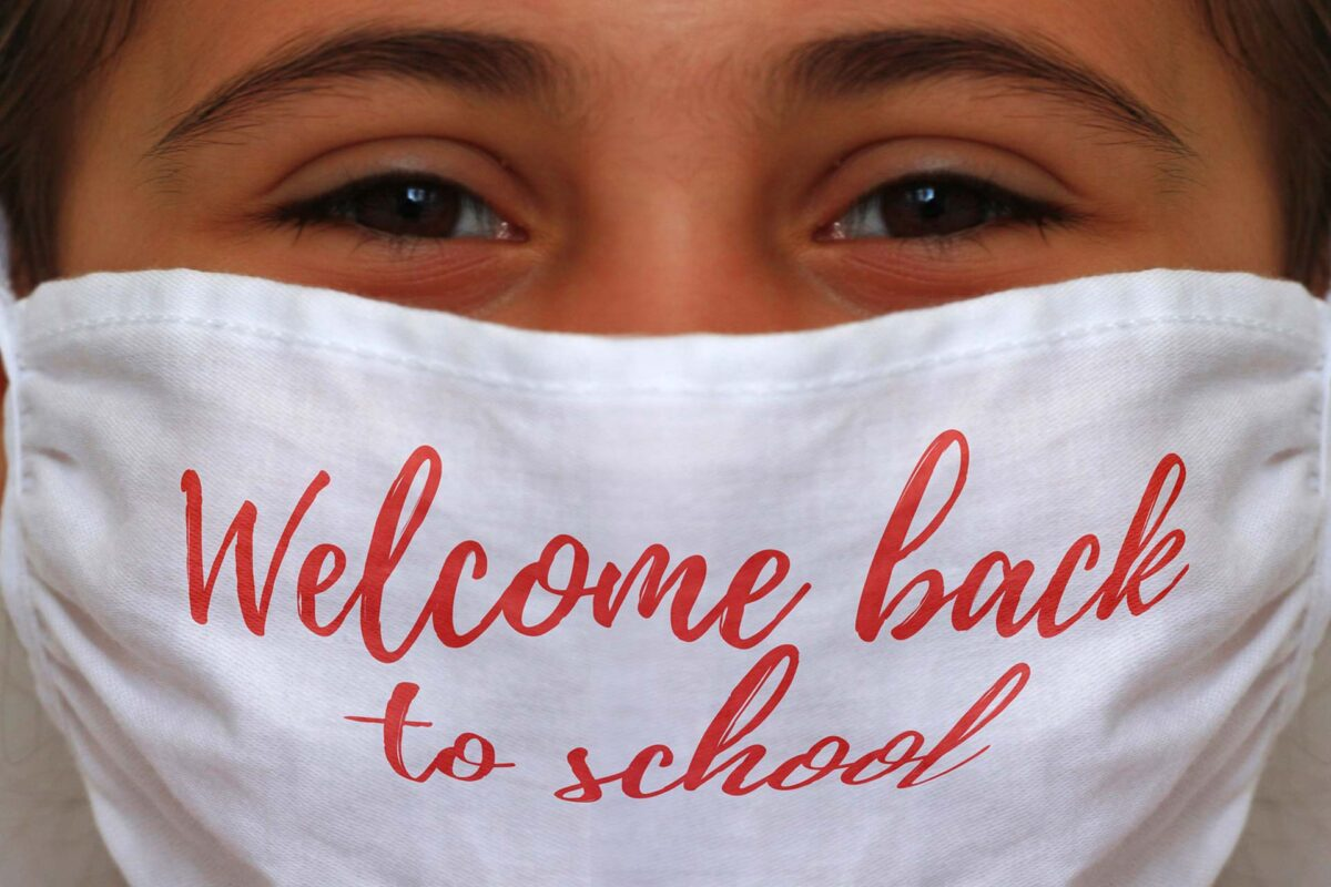 mask COVID19 welcome back to school
