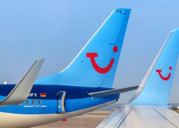 TUI flights Travel airplanes Germany