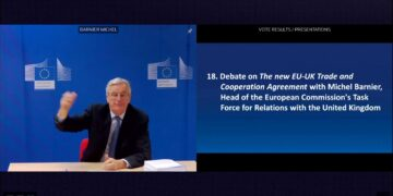 Barnier: Brexit shows the EU is not a prison after EU-UK Trade Deal