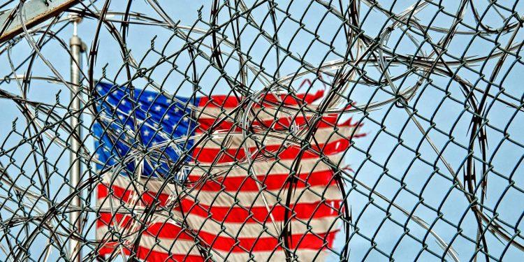 Guantánamo military prison in Cuba