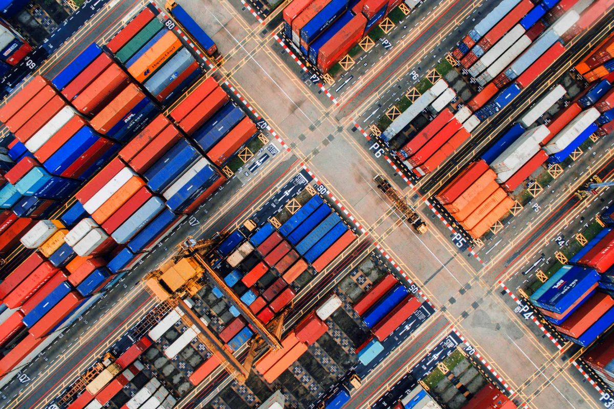 Harbor Trade Port Containers Imports Exports